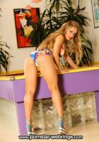 Nicole Aniston nude by the billiards table