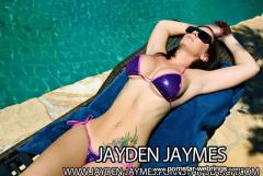 In the pool with Jayden James
