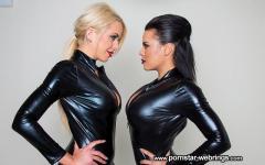 Nina Elle & Luna Star - Busty Latex Babes