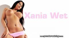 Real Pussy Mastubator of Xania Wet