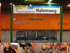 Selina666 - Schnell Fick U-Bahnhof Halemweg Berlin - Mydirtyhobby