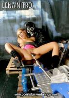 Sheryl Nitro fucks and plays with Fucking Machine