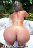 Brazilian Pornstar Leticia Sanches - Ass Out Cock In