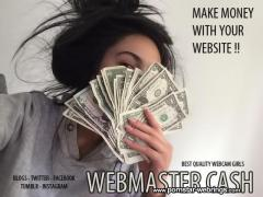 Webmaster Cash - Make Money with your Website