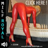 MILF Royal -  RED-Catsuit Creampie - MyDirtyHobby