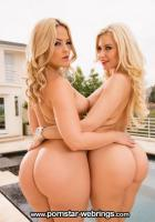 Alexis Texas & Anikka Albrite Create An Ass Sandwich