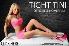 Tight Tini - Deutscher Pornostar - Offizielle Homepage