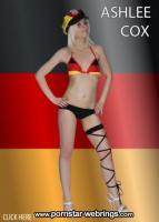 Ashlee Cox - Pornostar aus Deutschland