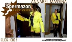 Annabel-Massina - Fickrige 3 Loch Spermazon-Creampie-Bote