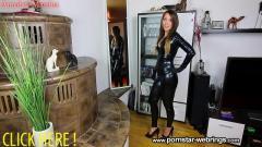 Annabel Massina - Schwarzer XL Schwanz fickt notgeile Latexschlampe zum Orgasmus