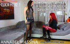 Annabel-Massina - Pervers 3x Sperma von Transe Zora