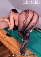 Anissa Kate - Pot That Rod: Fucking Feet And Pussy On Billiard Table