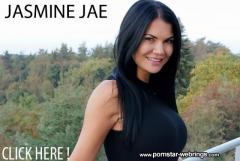 Four intense orgasms during British babe Jasmine Jae's dildo masturbation