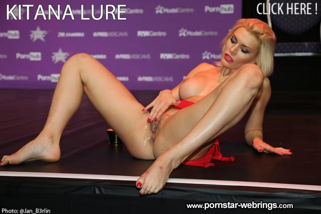 Kitana Lure - FanCentro Live Show - Venus Berlin 2017