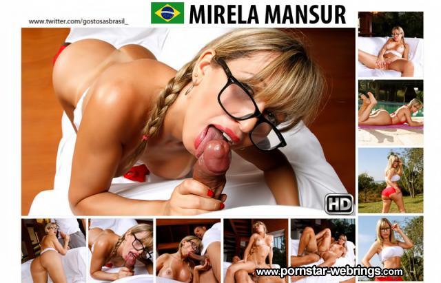 Mirella Mansur - Thick Ass - Brazilian Pornstar