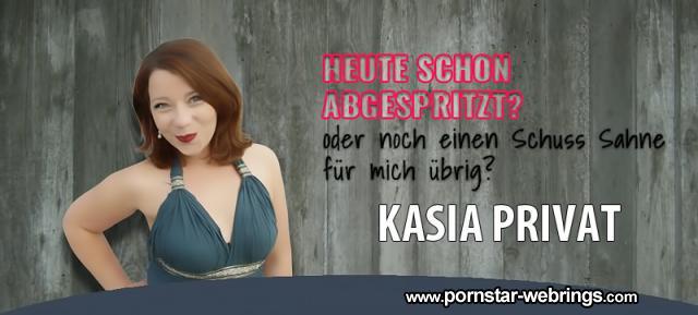 Kasia Privat - German Pornstar - Offizielle Homepage