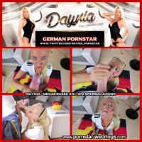 Daynia - Megakrasse XXL WM Spermaladung