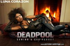 Luna Corazon - Deadpool: Domino A XXX Parody VR Porn Video
