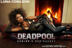 Luna Corazon - Deadpool: Domino A XXX Parody VR Porn Video