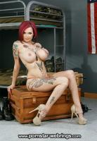 Busty American Porn Star Anna Bell Peaks